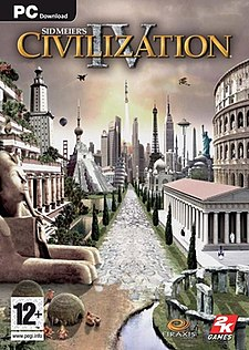 <i>Civilization IV</i> turn-based strategy computer game