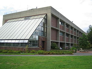 Hampshire College - Cole Science Center contains the School of Natural Science and administrative offices