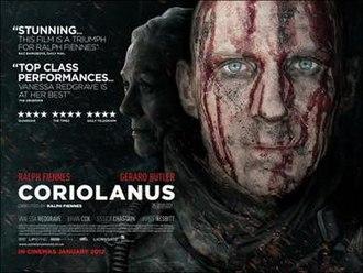 Coriolanus (film) - Theatrical release poster