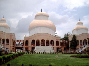 Chittaranjan Park - Chittaranjan Park Kali Mandir, with shrines devoted to Shiva, Kali and Radhakrishna, built in 1984