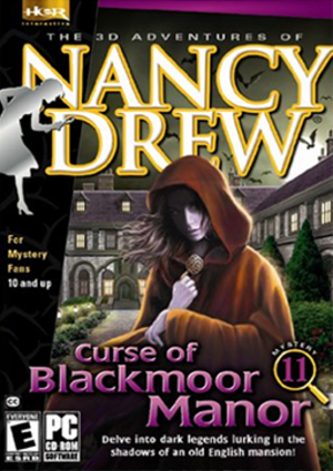 Nancy Drew: Curse of Blackmoor Manor - Image: Curse of Blackmoor Manor Coverart