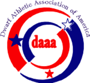 Dwarf Athletic Association of America - DAAA Logo