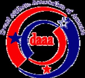 Dwarf Athletic Association of America - DAAA Logo