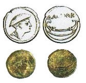 Daorson -  Illyrian Coin found at Daorson, Bosnia and Herzegovina.