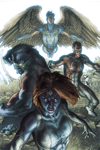 Dark X-Men - The Dark X-Men Art by Simone Bianchi
