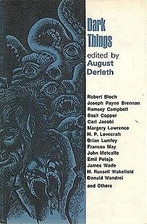 <i>Dark Things</i> book by August Derleth