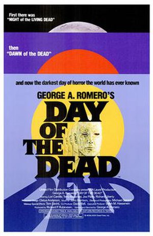 Day of the Dead (1985 film) - Theatrical release poster
