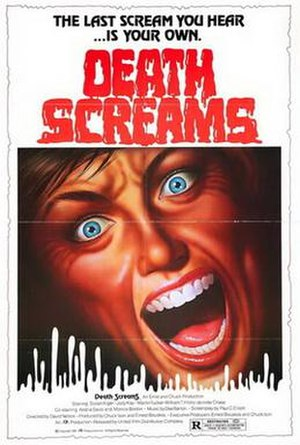 Death Screams - Theatrical poster to Death Screams