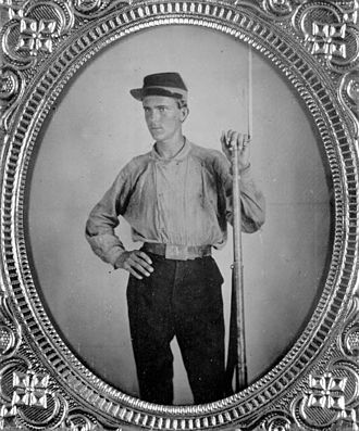 History of Florida State University - William Denham, West Florida Seminary cadet during the Civil War
