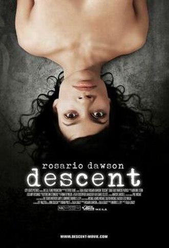 Descent (2007 film) - Release poster