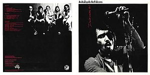 Jo Jo Zep & The Falcons - Cover of Jo Jo Zep and the Falcons' debut album Don't Waste It (1977)