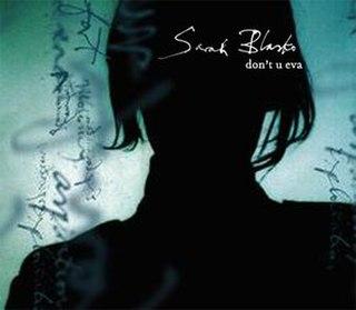 2004 single by Sarah Blasko