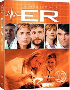 ER (season 10) - Image: ER Season 10 DVD Cover