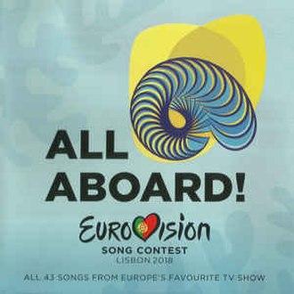 Eurovision Song Contest 2018 - Image: ESC 2018 album cover