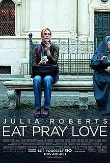 <i>Eat Pray Love</i> 2010 American film directed by Ryan Murphy