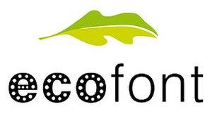 Logo of Ecofont by SPRANQ