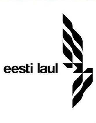 Eesti Laul - Logo used until 2015.