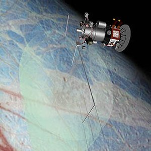 Europa Orbiter - An artist's impression of Europa Orbiter.