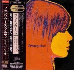 Françoise (album) - Image: F. Hardy Françoise CD Japan 90