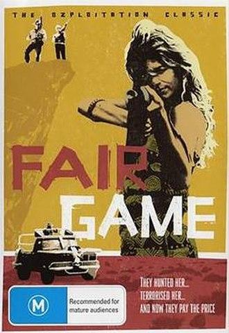 Fair Game (1986 film) - DVD cover