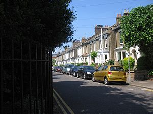 Fassett Square - Fassett Square, Hackney (2008)