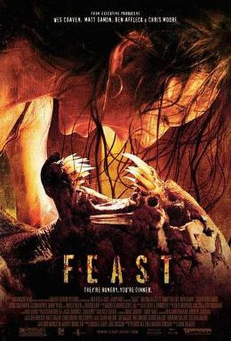 Feast (2005 film) - Theatrical release poster