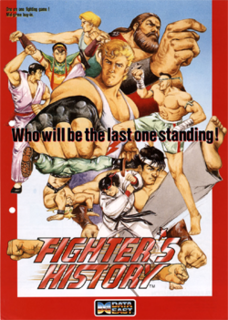 <i>Fighters History</i> (video game) 1993 video game