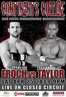 Carl Froch vs. Jermain Taylor Boxing competition