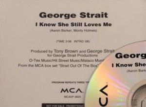 I Know She Still Loves Me - Image: GS She Still Loves Me single