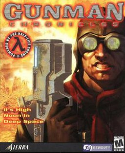 The US box art for Gunman Chronicles