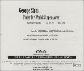Today My World Slipped Away - Image: George Strait Today My World Sl 220333