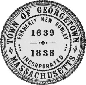 Georgetown, Massachusetts - Image: Georgetown MA seal