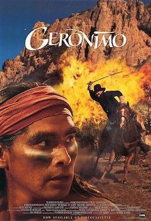 Geronimo (1993 film) - Poster