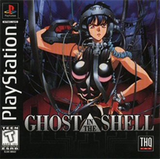 Ghost in the Shell (video game) - North American box art