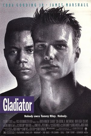 Gladiator (1992 film) - Theatrical release poster