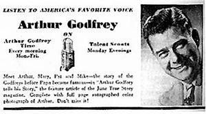 Arthur Godfrey's Talent Scouts - Image: Godfreytalent 2