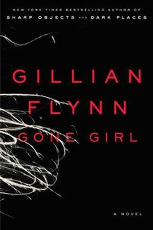 The book cover of Gone Girl, novel by Gillian Flynn