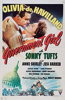<i>Government Girl</i> 1943 film by Dudley Nichols