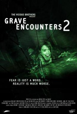 Grave Encounters 2 - Theatrical release poster