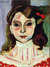 Henri Matisse, 1906, Portrait de Marguerite, oil on canvas, 32 x 24 cm, Marion Smooke Collection.jpg