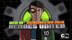 Ben 10/Generator Rex: Heroes United - Image: Heroes United Logo