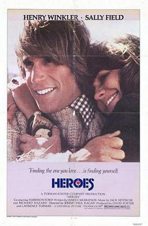 Heroes (1977 film) - Theatrical release poster