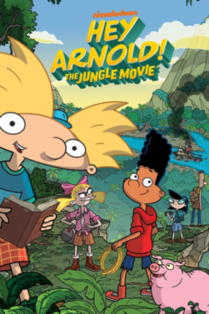 Hey Arnold!: The Jungle Movie - Promotional poster