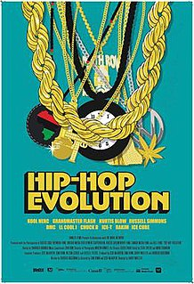 <i>Hip-Hop Evolution</i> television series