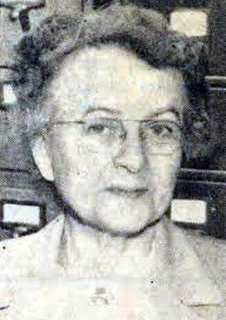 Ida Barney - Image: Ida Barney died 1982