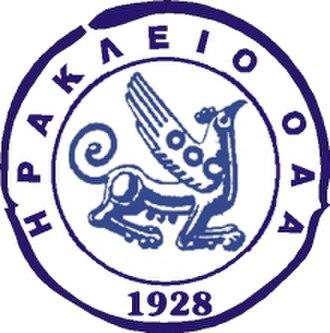Iraklio B.C. - Image: Irakleio bc logo