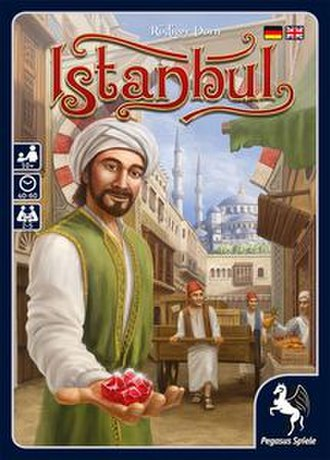 Istanbul (board game) - The box cover of Istanbul