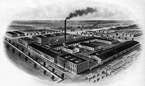 John Samuel Rowell - The JS Rowell factory in the late 1800s.