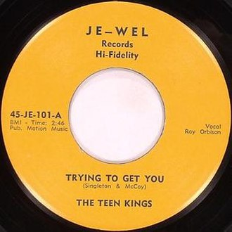 """Je–Wel - The title on this label, """"Trying to Get You"""" is incorrect. The correct title is """"Trying to Get to You"""""""