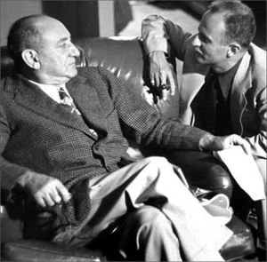 Joseph M. Schenck - with Darryl F. Zanuck (right), 1937